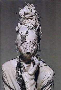 Jun Takahashi's Undercover Fall 2006 x Irving Penn. I don't mean rhinestones!