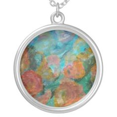 art necklace http://www.zazzle.com/art_necklace-177425759065293128