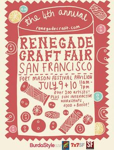 Thoughts, Specks & Keepings: Renegade Craft Fairs