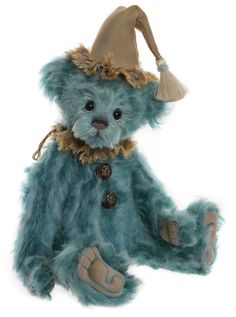 Charlie Bears ** Skinny Pin** Stunning Bear Now Retired A Great Variety Of Models Bears Artist