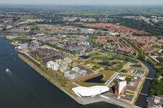 Overhoeks is een gebiedsontwikkeling op het voormalige Shell-terrein aan de noordelijke IJ-oevers in Amsterdam