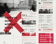 """Echa un vistazo a este proyecto @Behance:""""ISOLATION / Festival de cine Zombie"""" https://www.behance.net/gallery/23904991/ISOLATION-Festival-de-cine-Zombie"""