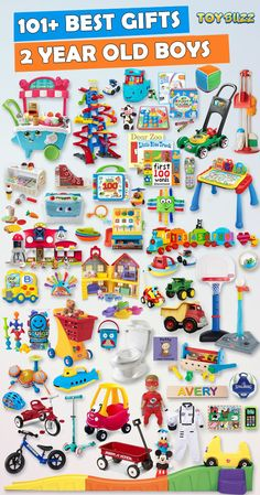101+ gifts for 2 year old boys or girls! Find the best toys perfect birthdays Christmas. Finding unique olds Best Gifts And Toys For Year Old Boys 2018 |