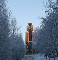 Lahti City Hall - Lahti, Finland City, Finland, Cities