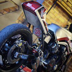 """128 Likes, 3 Comments - Some kind of nature - S.K.O.N (@skonstyle) on Instagram: """"Number 33 ⚡️⚡️ #SKONDA custom built 85 Honda CBX ⚡️⚡️#somekindofnature #skon #skate #skonstyle…"""""""