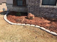 How To Landscape & Hardscape a Front Yard (from our experience Front Yard Decor, Front Yard Design, Driveway Design, Front House Landscaping, Landscaping Tips, Landscape Edging, Garden Landscape Design, What Is Landscape Architecture, How To Landscape