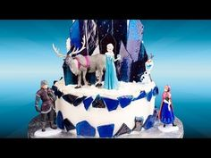 How to Make a Frozen Cake from Cookies Cupcakes and Cardio - YouTube