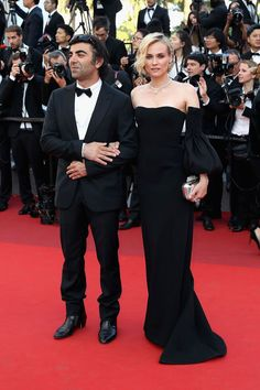 Fatih Akin and Diane Kruger in Jonathan Simkhai. Cannes Closing Ceremony - May 28 2017