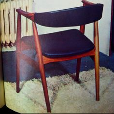 Found in Art&Décoration la revue de la maison from 1966.  Wanting a chair in this style for our breakfast room.