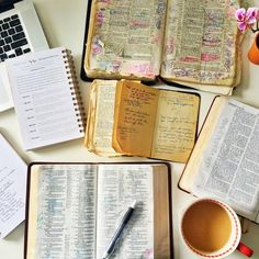 """As a recovering prideful Bible carrier, I am laying the markings, the tattered pages, the highlights at the feet of my Savior as a sacrifice of surrender. He is always teaching, always growing us, and always speaking through the Word."""