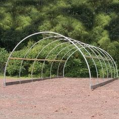 High Tunnels & Cold Frames - ClearSpan Round Cold Frame x x Greenhouse Film, Greenhouse Plants, Small Greenhouse, Outdoor Greenhouse, Greenhouse Heaters, Tunnel Greenhouse, Greenhouse Ideas, Plastic Lumber, Greenhouse Interiors