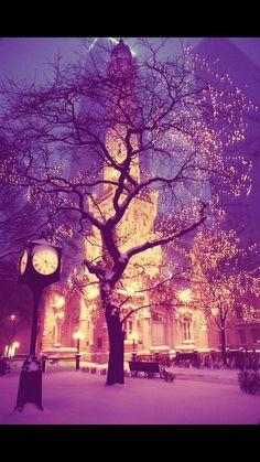 Картинка с тегом «winter, snow, and light»
