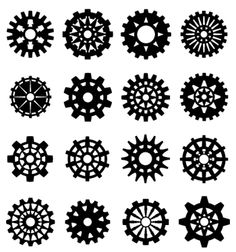 These gears have a lot going on with them.