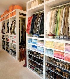 Organized Closet Tumblr The Layout Of