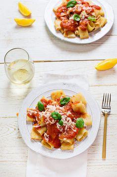 Fresh tomato and orange sauce (via abeautifulmess.com)