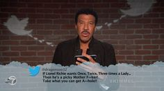 Lionel Richie from Celebrity Mean Tweets From Jimmy Kimmel Live!