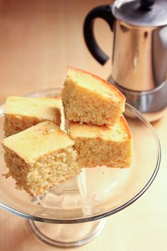 Heart Healthy King Cornbread - lower calories and fat, and Low Salt Recipes, Low Sodium Recipes, Gourmet Recipes, Cooking Recipes, Low Sodium Desserts, Low Sodium Cornbread Recipe, Healthy Cornbread, Cornbread Recipes, Low Sodium Bread