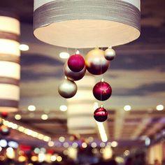 Balls by D.Boyarrin, via Flickr | #bokeh #lights #tan #red