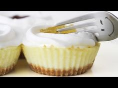 Mini Cheesecake Recipe - Easy Cupcake Size