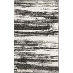 Deco Inspired Dark Grey/ Light Grey Rug (8' x 10') | Overstock.com Shopping - Great Deals on Safavieh 7x9 - 10x14 Rugs
