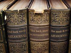 artjournal van oud boek