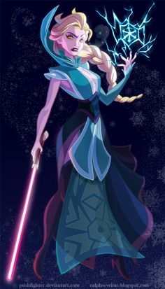 Princesas da Disney como personagens de Star Wars