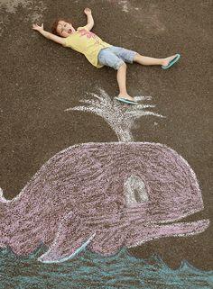 chalk photo ideas