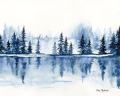 Jennie Kilcup Watercolors - Care - Skin care , beauty ideas and skin care tips Watercolor Projects, Watercolor Trees, Watercolor Background, Watercolor Landscape, Abstract Watercolor, Watercolor Illustration, Landscape Paintings, Watercolor Paintings, Simple Watercolor