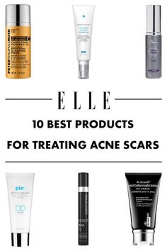 Tackle discoloration and craters with these dermatologist-approved products.