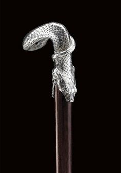 fuckyeahlalique:  Snake Cane Handle. Rene Lalique (1860 -1945) Circa 1908 -1917. Silver. 9cm (3.52 inches).