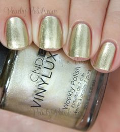 CND VINYLUX Locket Love | Fall 2014 Modern Folklore Collection | Peachy Polish