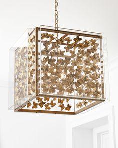 Tommy Mitchell Butterfly 4-Light Pendant