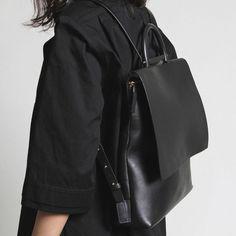 Black Backpacks via all-essentials.com