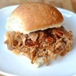 BBQ Pulled Pork Sandwiches {Slow Cooker}