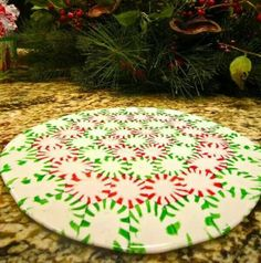 Arrange mints on cookie sheet. Bake at 350° for 8-10 minutes.  Let cool at room temperature. Add party favors and/or food and you have a take home plate for your party guests.