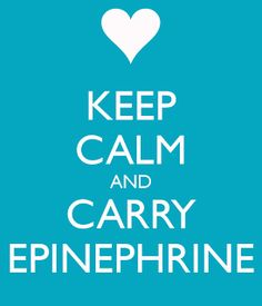 The Nut-Free Mom Blog: Attention All Food Allergy Friends: Carry Your Epinephrine!