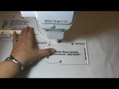Use your longarm machine (Tin Lizzie) to create rope designs or borders on a quilt.    http://www.secretworkshop.com
