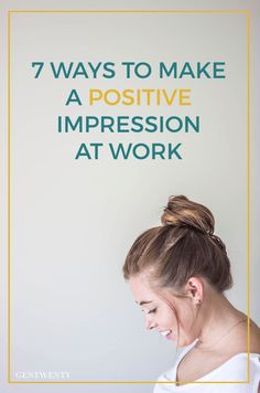 Whether you are fresh out of college, searching for internships or just trying to find balance in your professional life, there are a few things you can do to reach that positive attention you've been seeking at work.