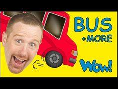 ruote del bus | video educativo | popolare filastrocca per wheels on the bus - YouTube