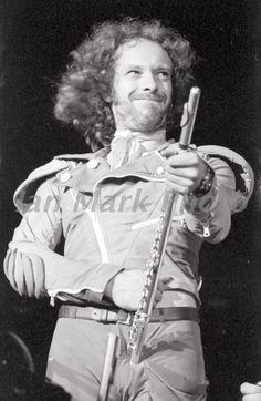Ian Anderson of Jethro Tull; 1977