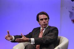 El expresidente conservador José María Aznar.  EUROPA PRESS