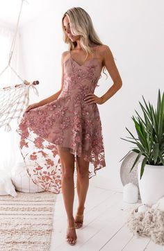 Saskia High Low Dress - best seller alert via Nouveau Riche Boutique #summer #outfits #twosistersthelabel