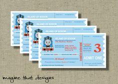 Thomas the Train invites