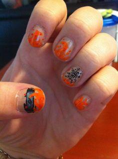 NARUTO NAILS - Căutare Google Naruto Nails, Fantasy Make Up, Print Tattoos, Nail Ideas, Hair Makeup, Google, Party Hairstyles, Nail Art Ideas