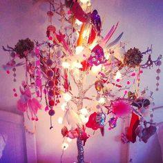 Everyone should have one of these in their office - a sass & bide wishing tree
