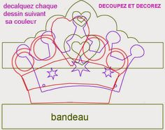 Oh My Fiesta! in english: Crowns templates. Crown Template, Heart Template, List Template, Flower Template, St Edward's Crown, Les Enfants Sages, Ben E Holly, Diy Party Hats, Oh My Fiesta