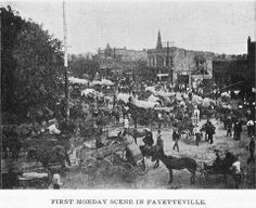 First Monday on the Square Fayetteville, Tennessee