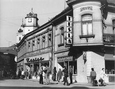 Trenčín, ul. Sládkovičova (60., 70. roky) Bratislava, San Francisco Ferry, To Go, Aesthetics, Building, Travel, Viajes, Buildings, Destinations