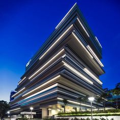 Edgy buildings for Singapore creatives.
