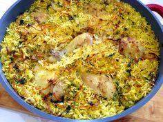 חיוכים מהמטבח: תבשיל שוקי עוף ואורז בתנור